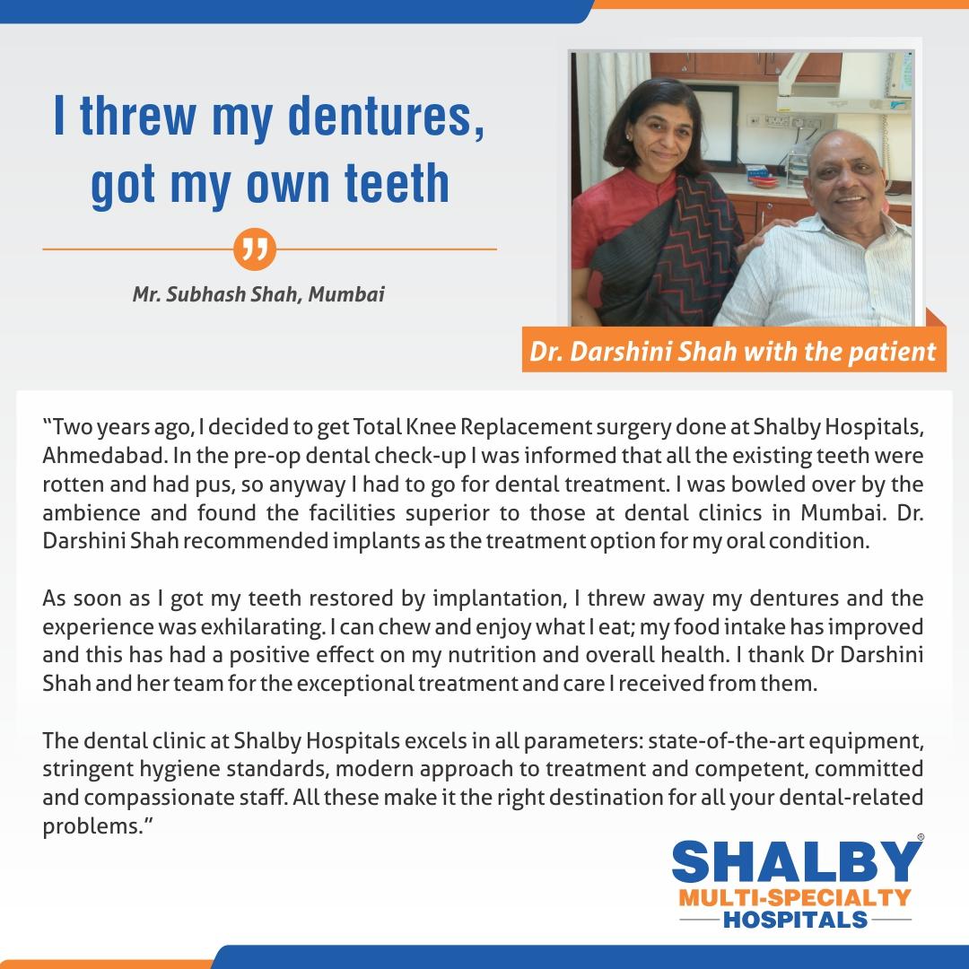 I threw my dentures Got My Own Teeth!!